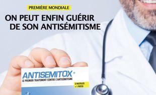 ANTISEMITOX, Le premier traitement contre l'antisémitisme