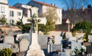 Le cimetière ancien de Puteaux (Hauts-de-Seine), le 4 décembre 2019. (Illustration)