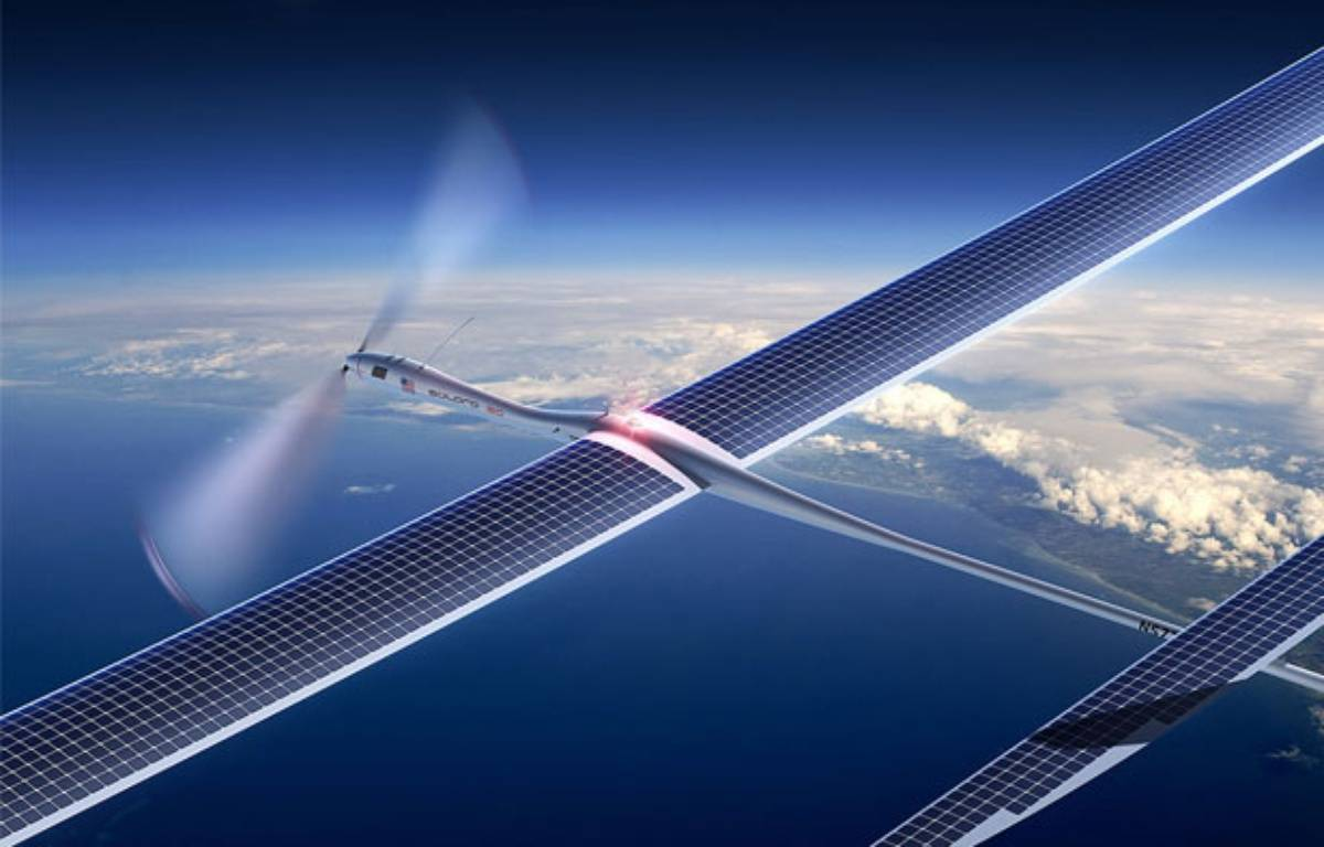 Un drone de la société Titan Aerospace – Titan Aerospace