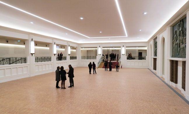 Le grand salon Mauduit ouvrira en janvier 2019.