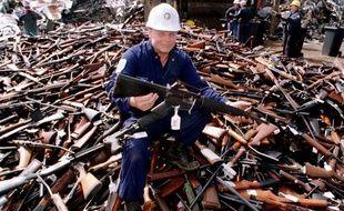 En 1996, l'Australie avait pour la première fois décrétée une amnistie nationale sur les armes à feu illégales et en avait récolté plus de 600.000.