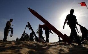 L'armée israélienne a annoncé le lancement dimanche d'un test à l'échelle du pays d'un système d'alerte par le biais de messages SMS destinés à prévenir la population civile en cas d'attaques de missiles.