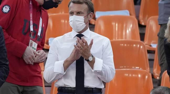 JO Tokyo 2021: Au judo comme au basket, Emmanuel Macron n'aura pas porté chance aux Bleus