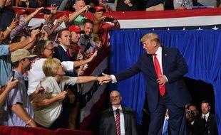 Donald Trump, le président des Etats-Unis, le 17 juillet 2019 en Caroline du Nord.