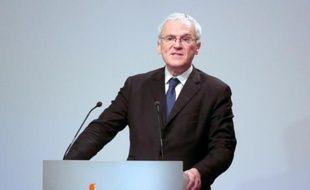 Le PDG d'EDF, Jean-Bernard Levy, le 16 février 2016 à Paris