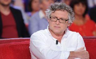 Michel Onfray à l'enregistrement de «Vivement Dimanche» le 2 septembre 2015.