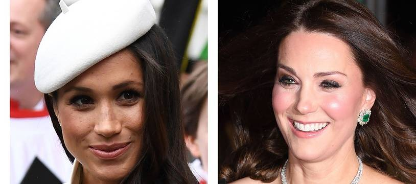 Meghan Markle et Kate Middleton lancent leurs propres marques d'emojis.