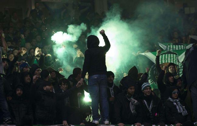Plus de 3.000 supporters stéphanois ont assisté au match aller jeudi à Old Trafford.