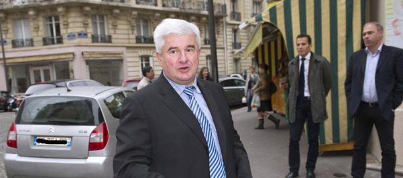 Le maire UMP du Raincy Eric Raoult, le 9 octobre 2012 à Paris.