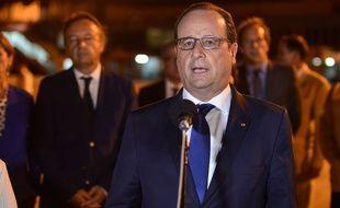 François Hollande arrive à La Havane, à Cuba, le 11 mai 2015.