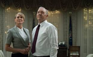 Robin Wright et Kevin Spacey dans la série «House of Cards».