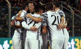 La Juventus de Turin lors du match à Crotone mercredi