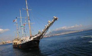 """Un navire va partir samedi de Naples pour la bande de Gaza dans le cadre de la """"flottille de la liberté"""" luttant contre le blocus imposé par Israël sur le territoire, a déclaré jeudi un porte-parole des organisateurs à l'AFP."""