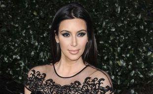 Kim Kardashian à Los Angeles le 13 février 2013.