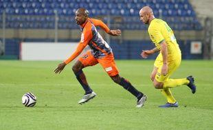 MHSC / Nantes (31 octobre 2018) : Souleymane Camara, symbole d'une équipe en manque de rythme.