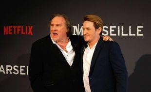 Gérard Depardieu et Benoît Magimel