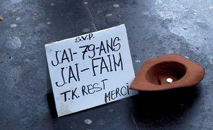Illustration de la pauvreté à Paris