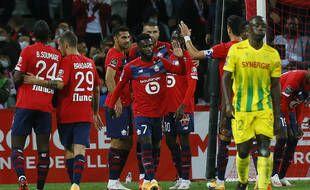 Les Lillois face à Nantes