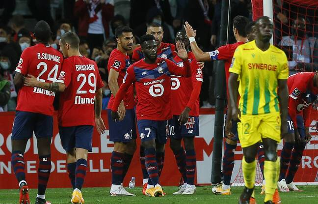 Ligue 1 : Lille nouveau leader du championnat après sa victoire face à Nantes