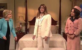 Natalie Portman dans un sketch du «SNL» le 4 février 2018