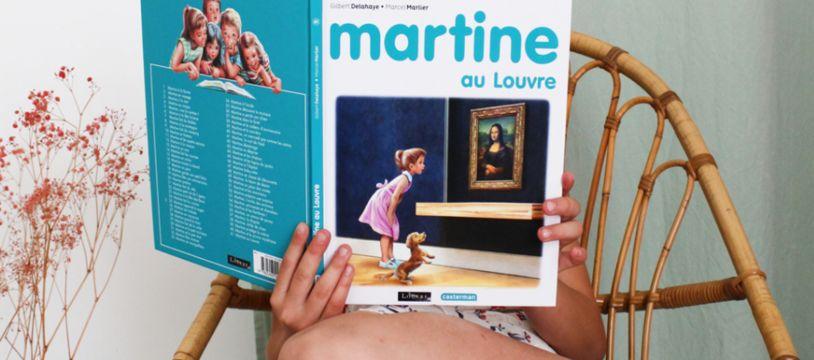 « Martine au Louvre »
