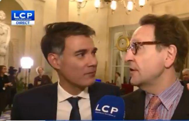Olivier Faure (PS) interrompt une interview de Gilles Le Gendre (LREM) en direct