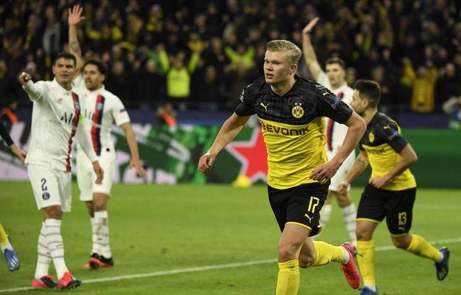 Dortmund-PSG : En dessous de tout dans son 3-4-3 inédit, Paris cède face au talent de Haaland