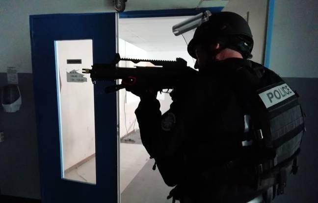 Les policiers de Haute-Savoie se sont entraînés jeudi lors d'un exercice de tuerie de masse, afin d'acquérir des automatismes en cas d'attaque terroriste.