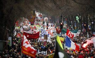 Mobilisation à Paris.