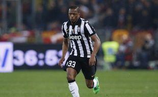Patrice Evra s'est imposé dans le couloir gauche de la Juventus