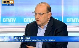 Julien Dray sur BFMTV, le 29 mars 2015.