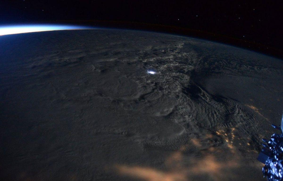 L'astronaute américain Scott Kelly a posté sur Twitter quelques photos de la tempête Jonas prises depuis l'espace, à bord de l'ISS. – @StationCDRKelly