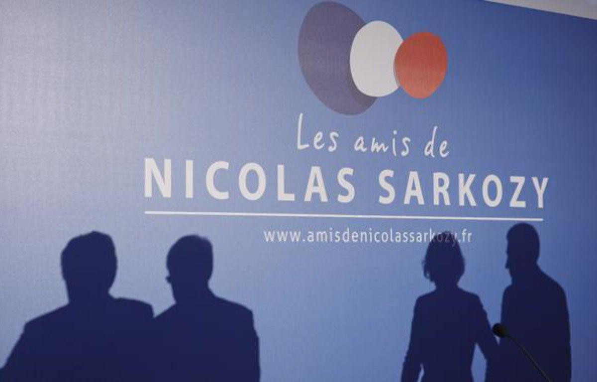 Des amis de Nicolas Sarkozy avaient organisé un meeting à la Maison de la chimie, à  Paris, le 20 février 2013. – A. GELEBART / 20 MINUTES