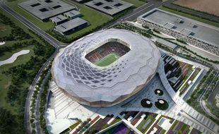 L'un des futurs stade du Mondial 2022 de football au Qatar.