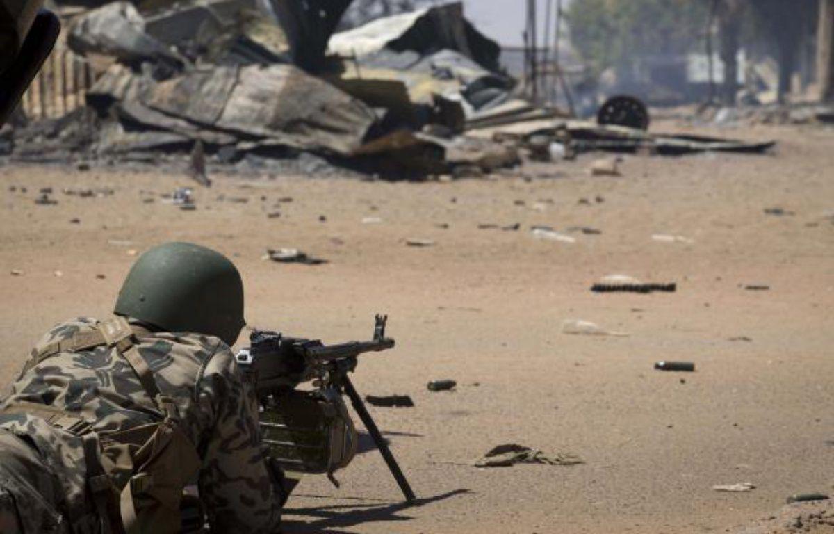 Un soldat malien le 22février 2013 àGao. – JOEL SAGET / AFP