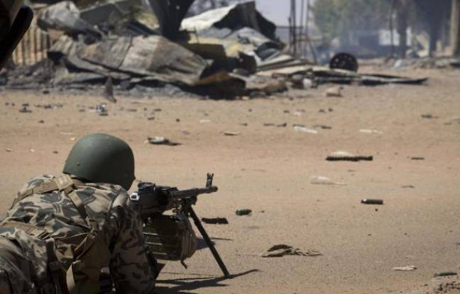 Un soldat malien le 22février 2013 àGao.