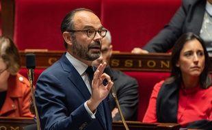 Edouard Philippe, le 13 novembre 2018 à l'Assemblée nationale.
