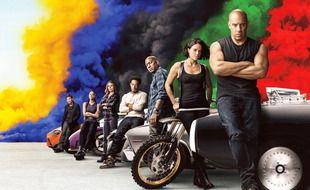 Les acteurs de la franchise «Fast & Furious»: Vin Diesel, Michelle Rodriguez, Tyrese Gibson, Ludacris, Jordana Brewster, Nathalie Emmanuel et Sung Kang