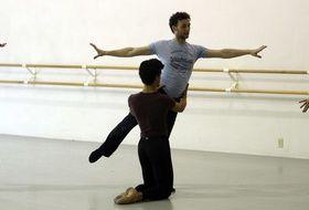 Le danseur et chorégraphe britannique Liam Scarlett en août 2012