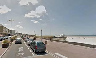 Lorsque la marée monte, des bancs de sable se forment à Berck-sur-Mer, dans le Pas-de-Calais.