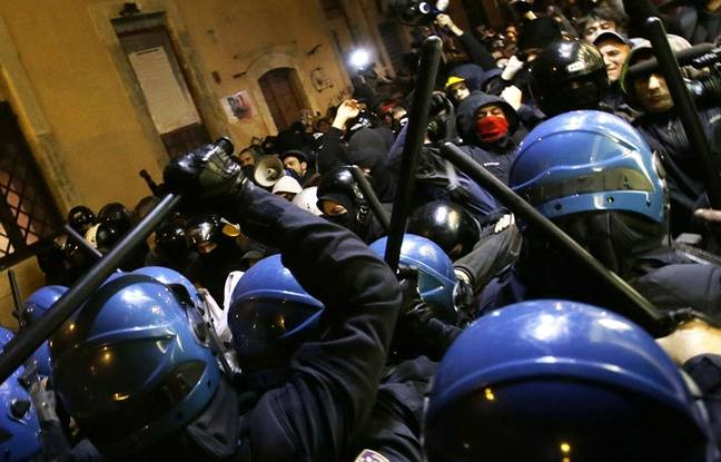 italie 47 opposants au tgv lyon turin condamn s la prison pour heurts avec la police en 2011. Black Bedroom Furniture Sets. Home Design Ideas