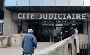 Illustration de la Cité judiciaire, à Rennes.
