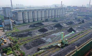 Un champ de charbon à Nanjing. (illustration)