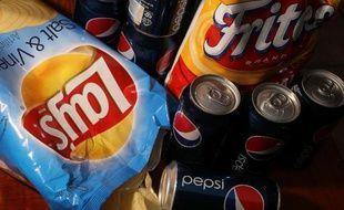 Des chips de la marque Lays, propriété de PepsiCo