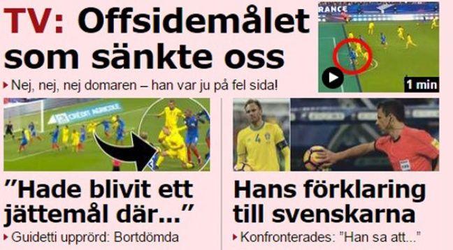 Ca parle arbitrage dans la presse suédoise.