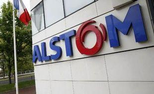 Le siège du groupe Alstom à Levallois-Perret, près de Paris, le 27 avril 2014