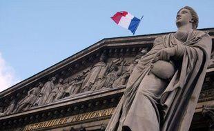 Vue de l'Assemblée nationale.