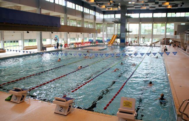 La piscine de Bréquigny à Rennes.