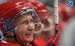 Vladimir Poutine met 8 buts au Hockey contre des vétérans de la NHL - Le Rewind (vidéo)