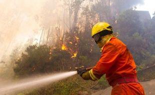 Plus de 500 pompiers tentaient samedi matin de venir à bout de plusieurs feux de forêt dans le nord et le centre du Portugal, ainsi que sur l'île de Madère où un hôpital a dû être évacué préventivement, selon un bilan des services de la protection civile.